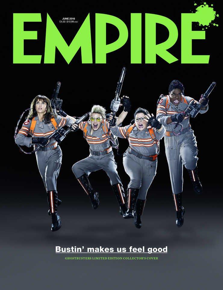 Ghostbusters: le protagoniste sulla cover di Empire