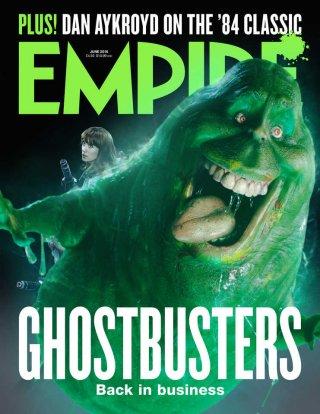 Ghostbusters: la cover di Empire con Slimer (giugno 2016)