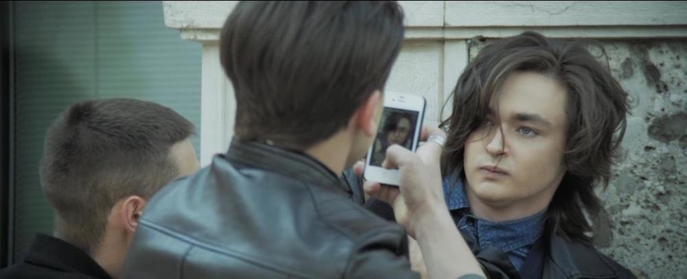 InFernet: Leonardo Borgognoni in una scena del film