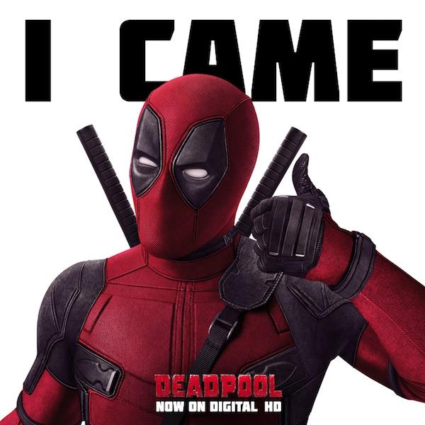 Deadpool: un nuovo ammiccante poster accompagna l'uscita anticipata in digitale