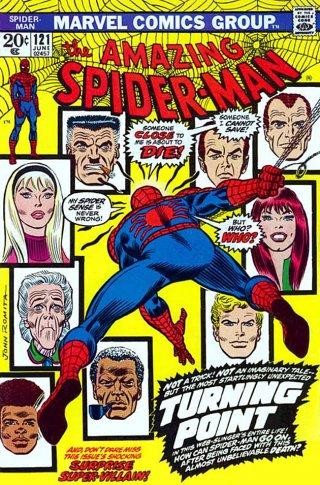 La copertina di Amazing Spider-Man #121