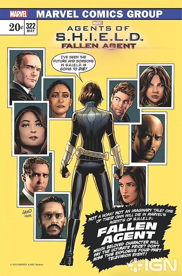 Agents of S.H.I.E.L.D. 3: il final poster della terza stagione ispirato a Spider-Man