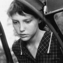 Au hasard Balthazar: Anne Wiazemsky in una scena del film