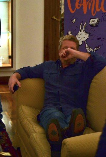 The Walking Dead: Michael Cudlitz in un momento scherzoso