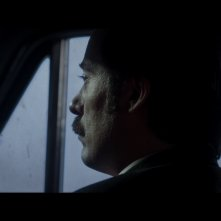 Francisco Sanctis's Long Night: Diego Velázquez in macchina in una scena del film
