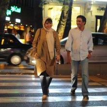 Inversion: Sahar Dowlatshahi in ospedale per strada in una scena del film