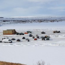 Fast 8: veicoli in mezzo alla neve sul set in Islanda