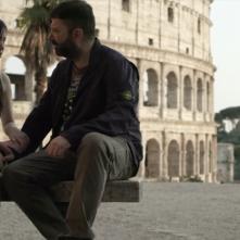 Si vis pacem para bellum: Stefano Calvagna e Francesca Fiume in un momento del film