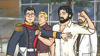 Archer: alcuni dei personaggi del serial