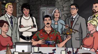 Archer: un'immagine dei protagonisti della serie