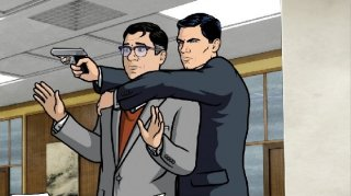 Archer: una scena d'azione della serie