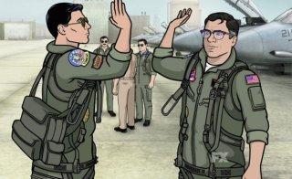Archer: due dei protagonisti della serie