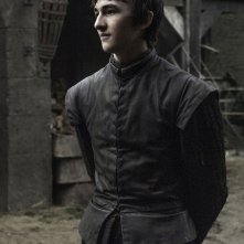 Il trono di spade: l'attore Isaac Hempstead Wright interpreta Bran in Home