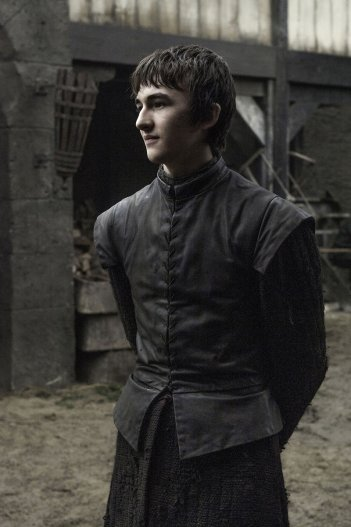 Il trono di spade: l'attore Isaac Hempstead Wright interpreta Bran in Home