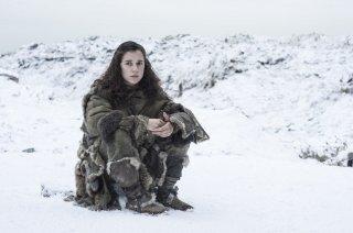 Il trono di spade: Ellie Kendrick in una foto dell'episodio Home
