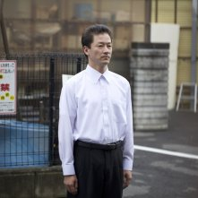Harmonium: Kanji Furutachi in una scena del film