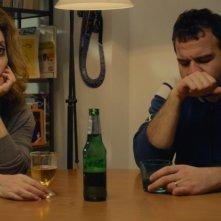 La buona uscita: Gea Martire e Gennaro Maresca in una scena del film