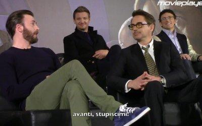 Captain America: Civil War - la conferenza stampa a Londra