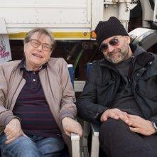 Falchi: Nino D'Angelo e Fortunato Cerlino in una foto promozionale dal set