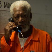 Now You See Me 2: Morgan Freeman in una scena del film