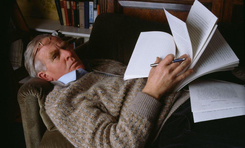 Lo scrittore John Le Carré