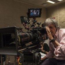 Miami Beach: il regista Carlo Vanzina al lavoro sul set del film