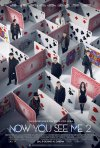 Locandina di Now You See Me 2 - I maghi del crimine