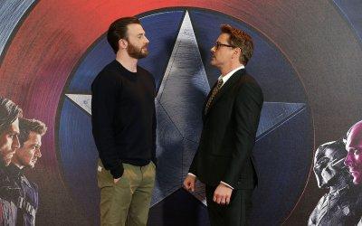 """Civil War, gli Avengers si """"scontrano"""" a Londra"""
