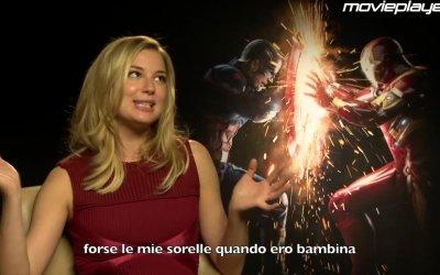 Captain America: Civil War - Video-intervista a Emily VanCamp