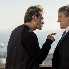 Marseille: gli attori Benoît Magimel e Gérard Depardieu in una foto della serie