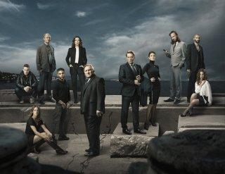 Marseille: una foto promozionale del cast