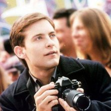 Tobey Maguire è Peter Parker in Spiderman