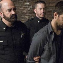 Banshee: Matt Servitto e Antony Starr in una foto della quarta stagione