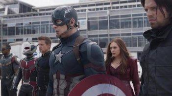 Captain America: Civil War - il Team Cap pronto al duello