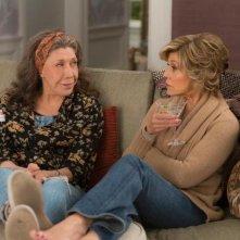 Grace and Frankie: le protagoniste Lily Tomlin e Jane Fonda