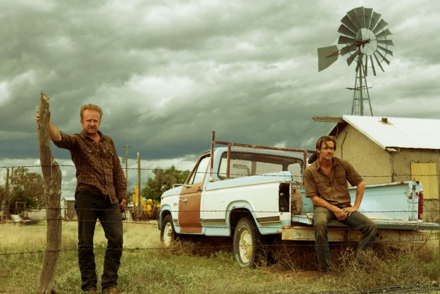 Hell or High Water: Chris Pine e Ben Foster in una foto del film