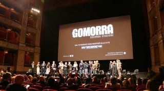 Gomorra 2: uno scatto dalla conferenza stampa
