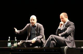 Gomorra 2: Roberto Saviano alla conferenza stampa