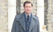 Allied: Brad Pitt e Lizzy Caplan sul set del film di Robert Zemeckis