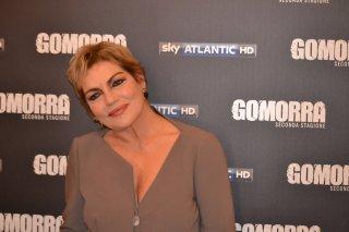 Gomorra seconda stagione: Cristina Donadio al photocall