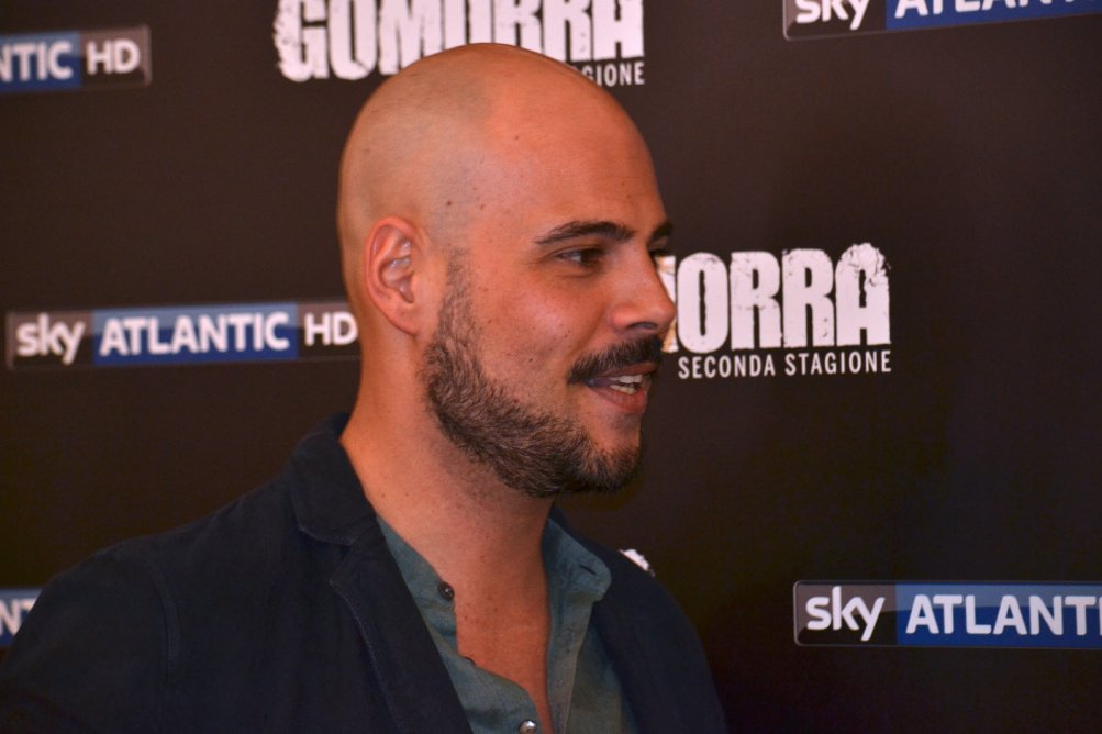 Gomorra seconda stagione: Marco D'Amore al photocall
