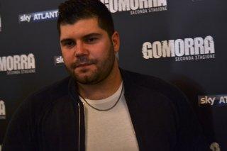 Gomorra seconda stagione: Salvatore Esposito al photocall