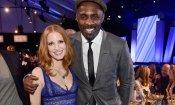 Jessica Chastain e Idris Elba in Molly's Game di Aaron Sorkin