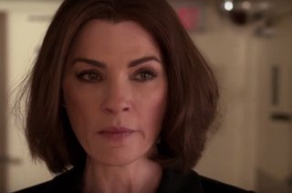 The Good Wife: la protagonista Julianna Margulies in End