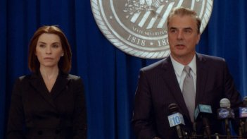 The Good Wife: Julianna Margulies accanto a Chris Noth nell'episodio End