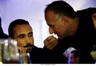 Gomorra: Marco Palvetti insieme a Stefano Sollima