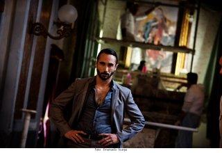 Gomorra: Marco Palvetti in una foto della seconda stagione