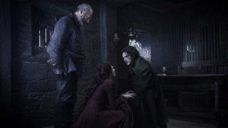 Il trono di spade: Davos e Melisandre parlano con Jon Snow in Oathbreaker