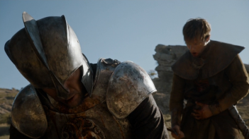 Il trono di spade: un'immagine della battaglia alla Torre della Gioia mostrata in Oathbreaker