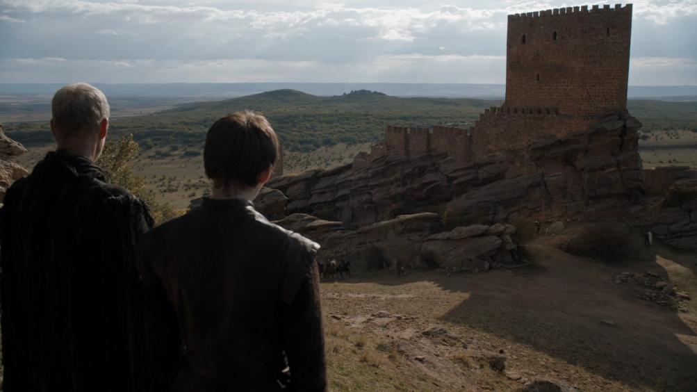 Il trono di spade: Il Corvo a Tre Occhi e Bran in una foto di Oathbreaker
